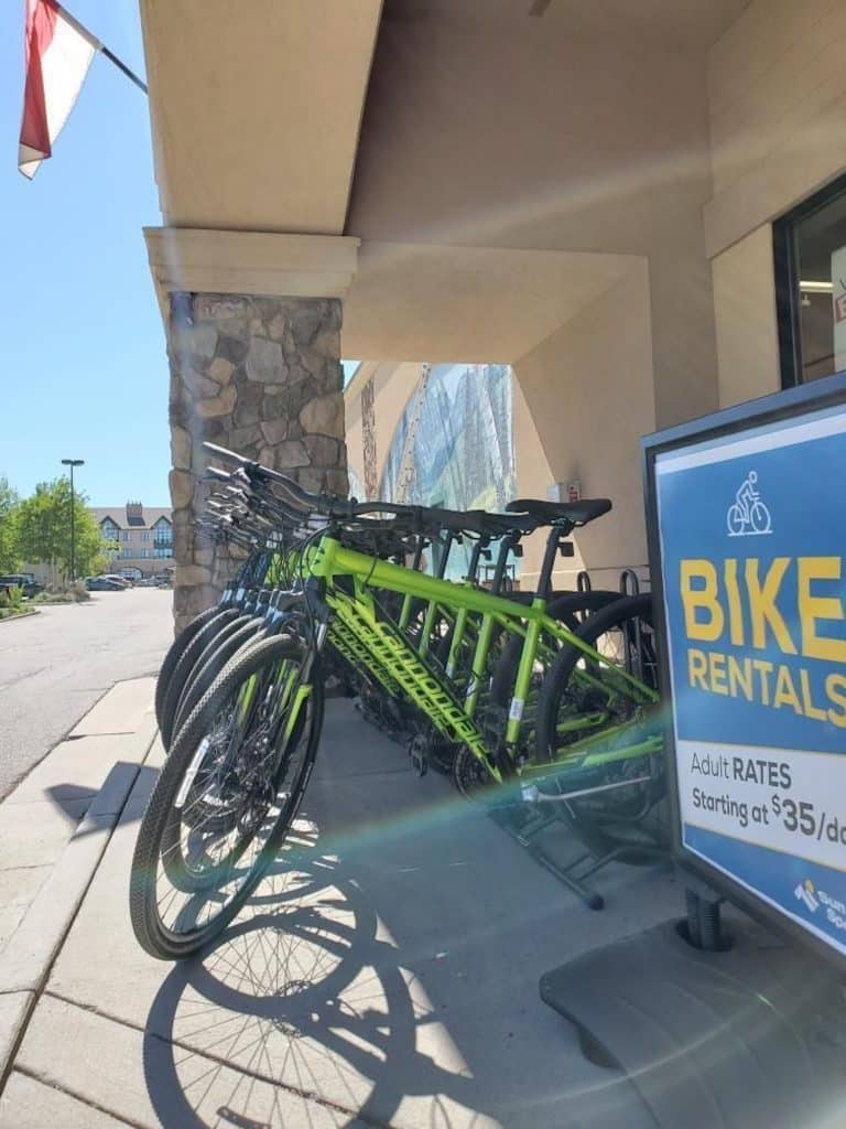 Sun & Ski has the whole family covered with bike rentals from brands like Cannondale, Habit, Trail, Topstone and Quik.
