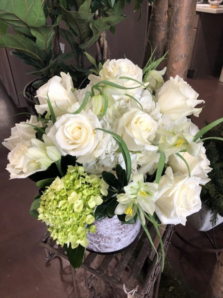 You can order flowers by phone, online or come into Sweet Pea Designs. They can also send flowers to your family and friends across the country.