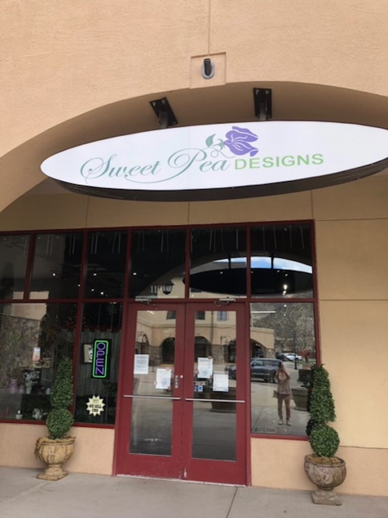 Sweet Pea Designs opened their doors to the public on May 1.