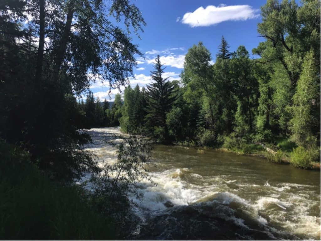 Runoff on the Eagle River is a marker of the summer river season here in the Eagle Valley. Snowpack in the mountains, moisture content of watershed soils and spring weather patterns all contribute to the flows we will see during runoff in upcoming weeks or months.