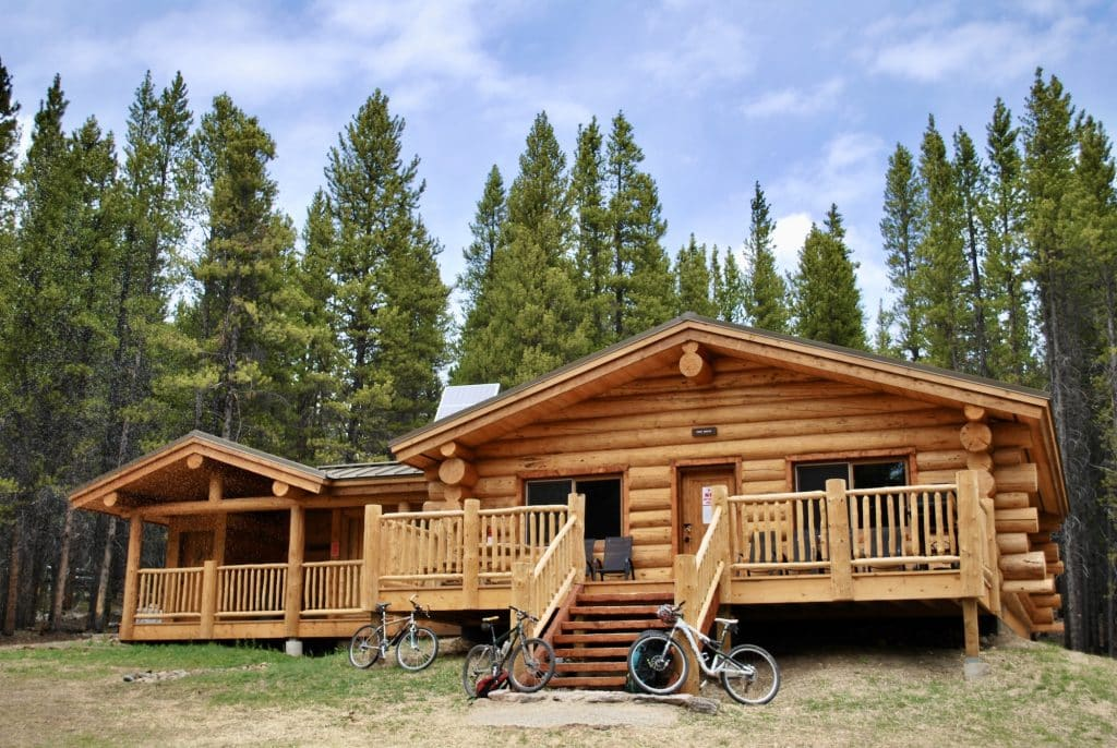 The Continental Divide and Point Breeze Cabins are located on Tennessee Pass and are available for nightly rentals.