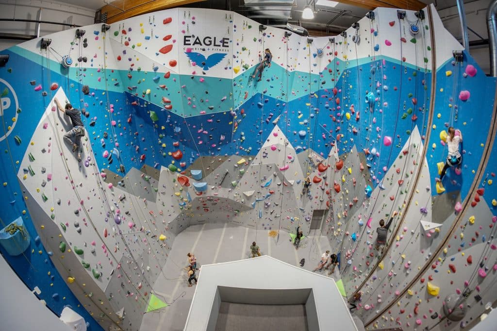 Eagle Climbing and Fitness wants to build strength in the community by creating and offering responsible classes, workshops and camps. Its goal is to keep the community healthy, happy and strong.