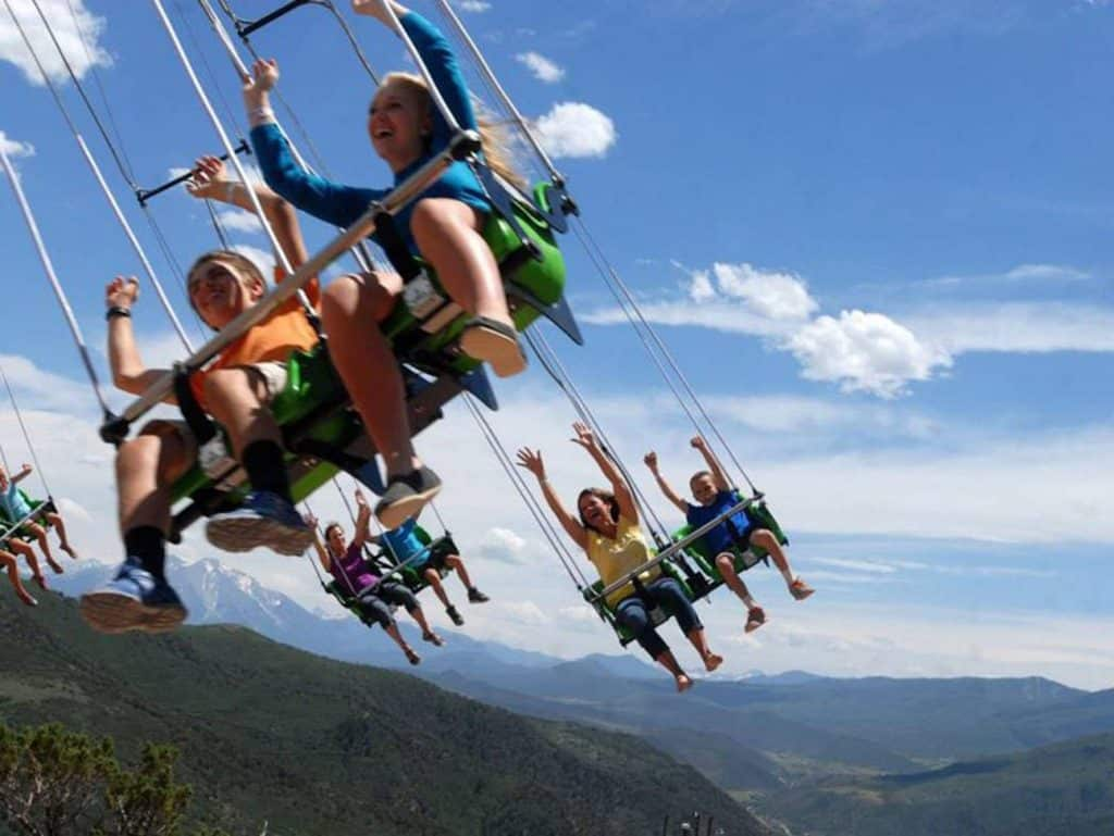Outdoor family fun and adventure awaits you at the Glenwood Caverns Adventure Park in Glenwood Springs, America's only mountaintop theme park.