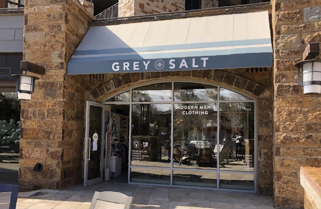 Grey Salt is located on the second level of Solaris in Vail Village. Grey Salt will be participating in the Vail Farmers Market right outside of the store.