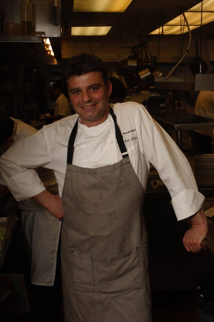 Originally from Grenoble, France, Left Bank's chef-owner Jean-Michel Chelain came to the United States in the mid 1990s.