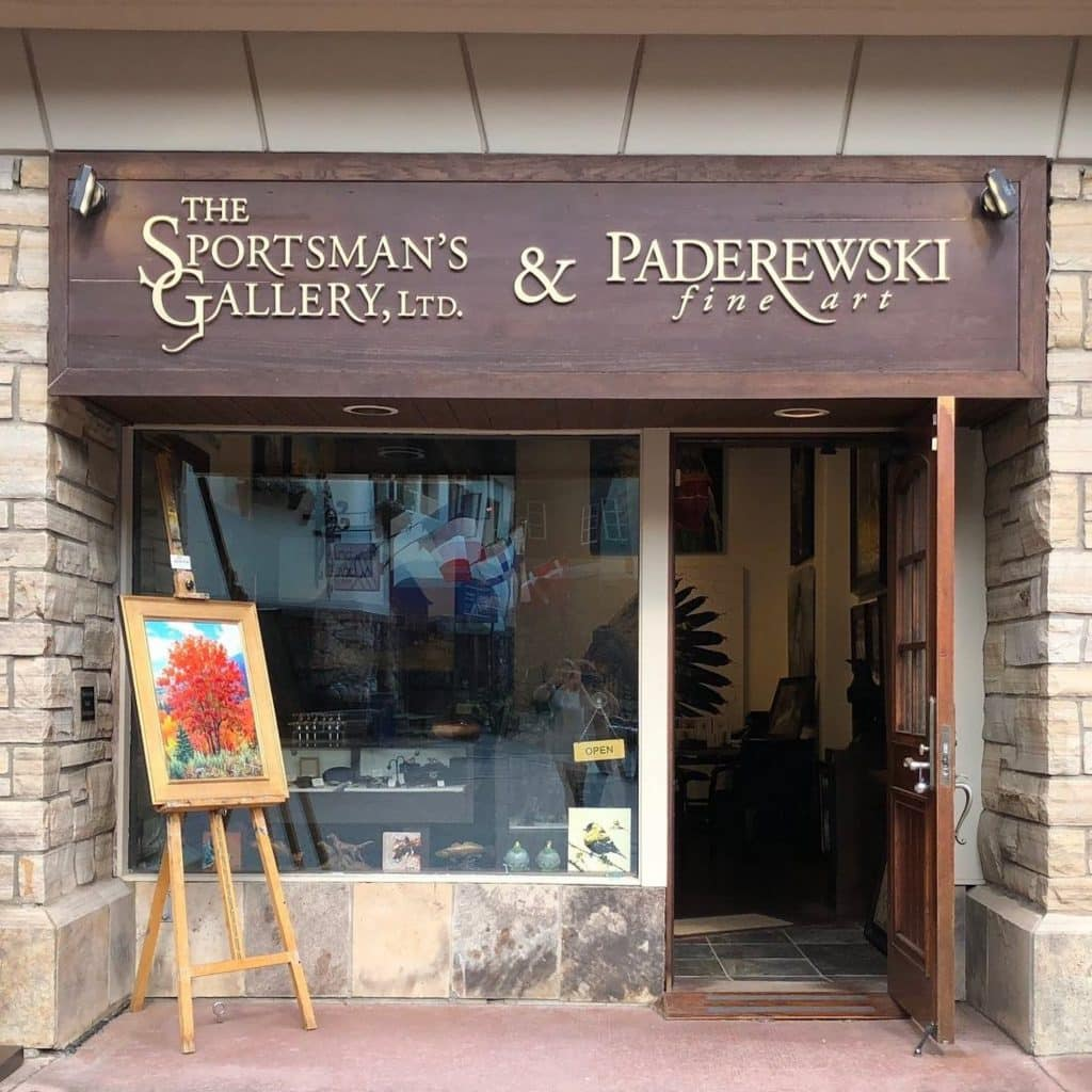 For over 20 years The Sportsman's Gallery and Paderewski Fine Art have served collectors from around the world from its locations in Beaver Creek, CO and Charleston, SC.