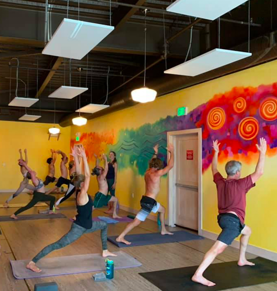 Revolution Power Yoga is offering members one week of free yoga to give to a friend, family member or co-worker if you sign up or renew your membership by June 28.