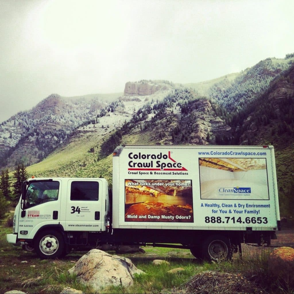 SteamMasters' sister company, Colorado Crawl Space, can help with spring runoff in crawl spaces in high water table areas.