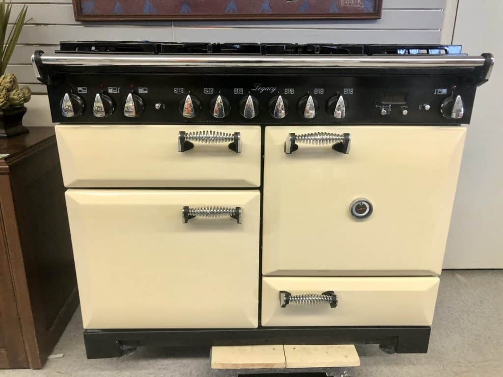 You'll never know what you'll find at Habitat ReStore Vail Valley in Eagle. The store recently took in an AGA Legacy 44-inch dual fuel range, which is a high-end stove made to look like a vintage model.