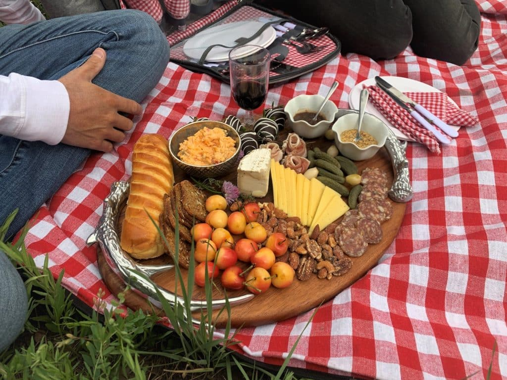Rocky Mountain Raclette partners with local horseback outfitters to pair a Raclette picnic or Local Colorado Picnic with any of the rides provided by Bearcat Stables or Beaver Creek Stables.