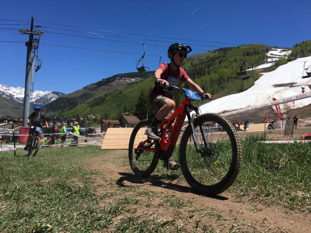 In 2019, the Bosch eBike Race at the GoPro Mountain Games saw 60 racers take to the course in the junior, amateur and pro divisions. Due to COVID-19, the 2020 GoPro Mountain Games were cancelled, but the Vail Valley Foundation is hosting smaller events to keep people active and connected.