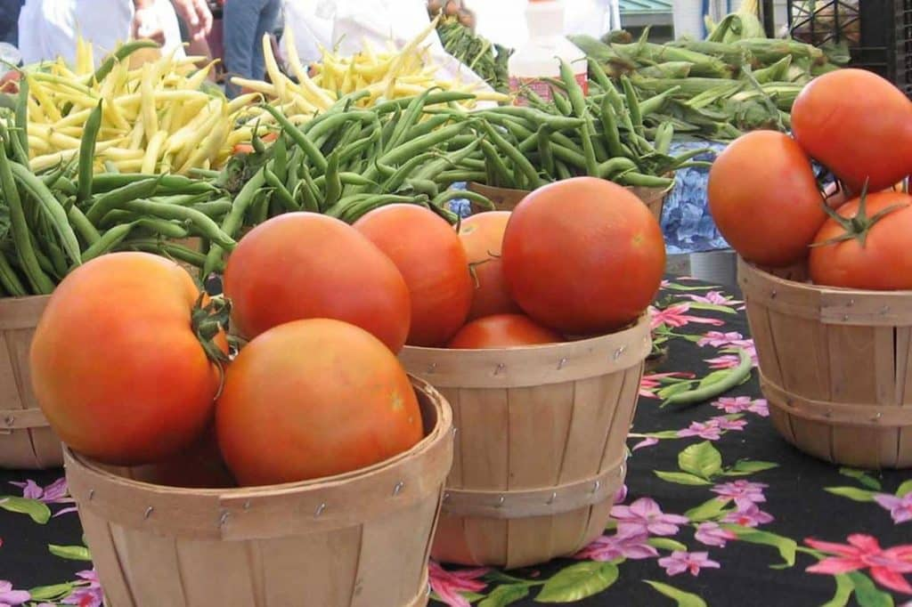 You'll find a scaled-down version of Eagle County's original farmers market in Minturn on Saturdays. In addition to produce, the Minturn Market will have food vendors, Colorado jerky and Colorado honey.