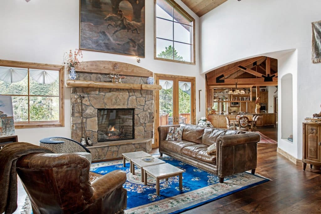 2105 Vermont Road, in Vail, Colorado, is listed by LIV Sotheby's International Realty broker, David McHugh for $2,795,000.