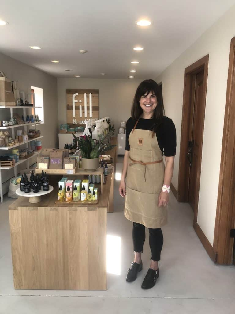 Founder and owner Allison Burgund of Fill & Refill went from showcasing her wares at the Vail Market and Art Show last summer and a small brick and mortar location last fall to expanding into a larger space in the Edwards Commercial Park this summer and also got a sprinter van for deliveries.