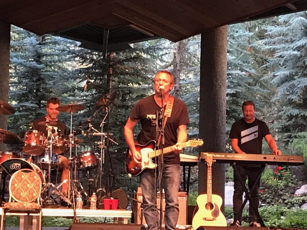 The Samples takes the stage at the Gerald R. Ford Amphitheater on for a Hot Summer Nights concert.