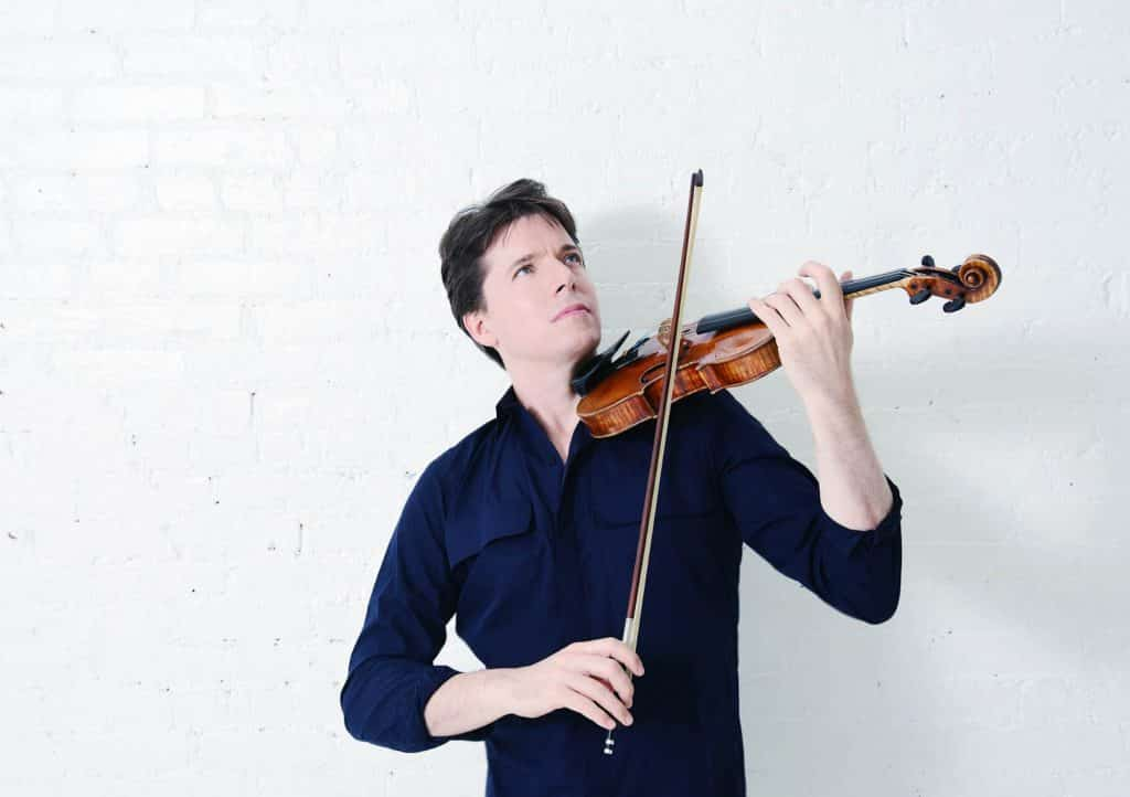 World-class violinist Joshua Bell with play his first in-person performance since COVID-19 restrictions began on Friday with soprano vocalist Larisa Martinez and pianist Peter Dugan at the Gerald R. Ford Amphitheater. The sold-out performance will also be streamed live.