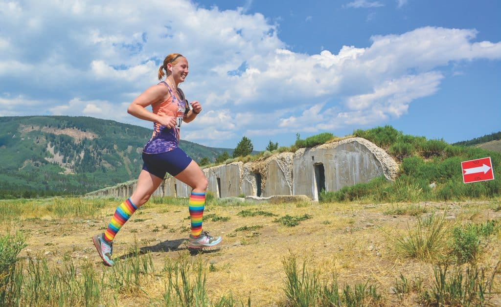 The Dynafit Vail Trail Running Series continues this Saturday with a half marathon and 5k at Camp Hale.