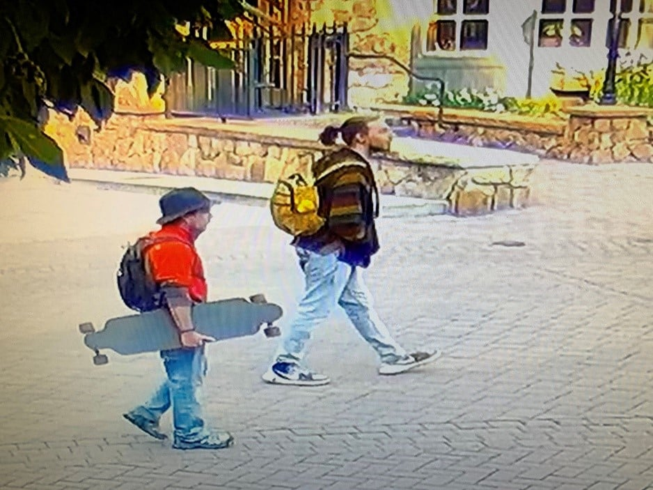 Vail police are looking for these two men.