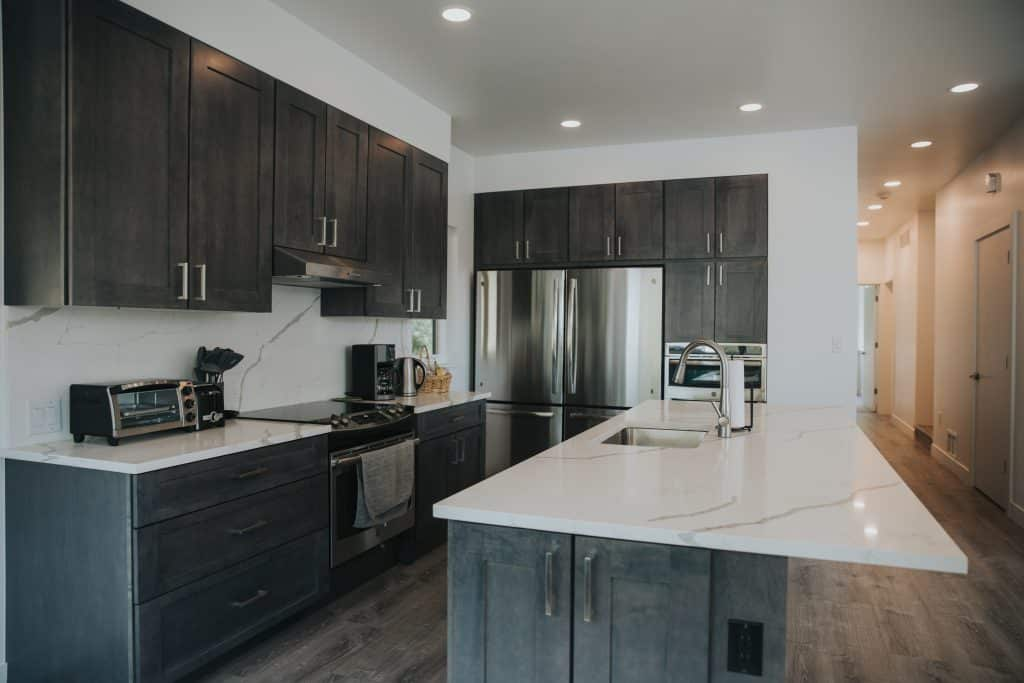 Each educators' room has a private bathroom and each housing unit was designed with oversized kitchens, private storage areas and large shared spaces.