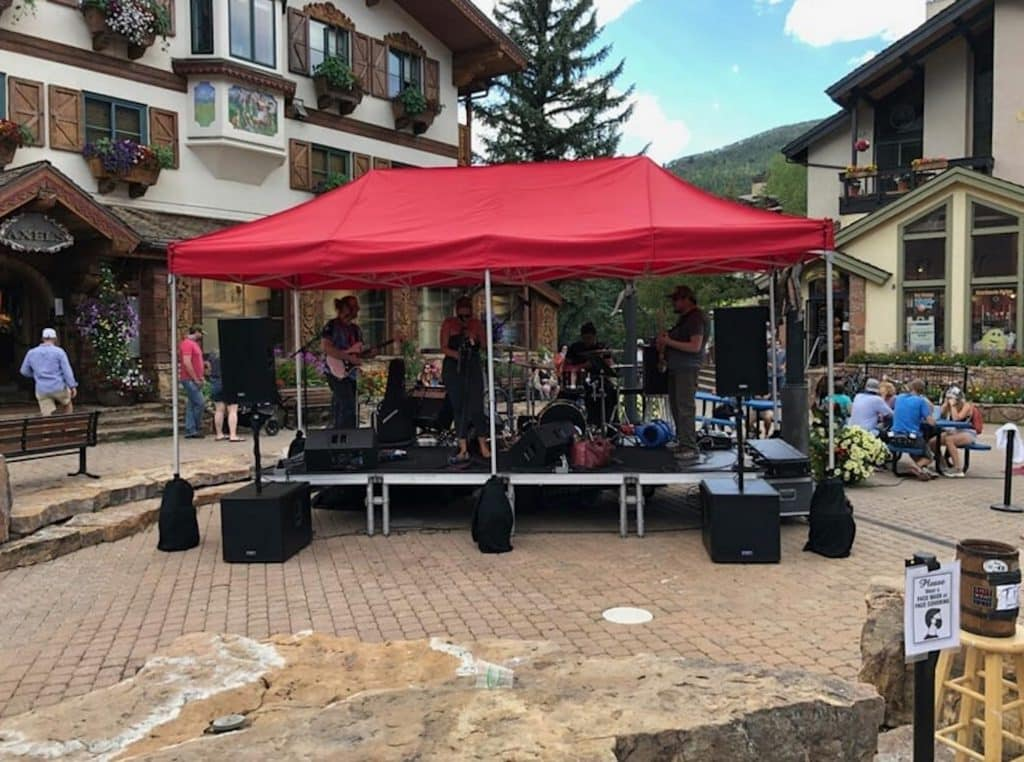 Brother's Keeper will be doing pop-up shows in Lionshead and Vail this weekend. Entertain yourself with a variety of live music up and down valley.