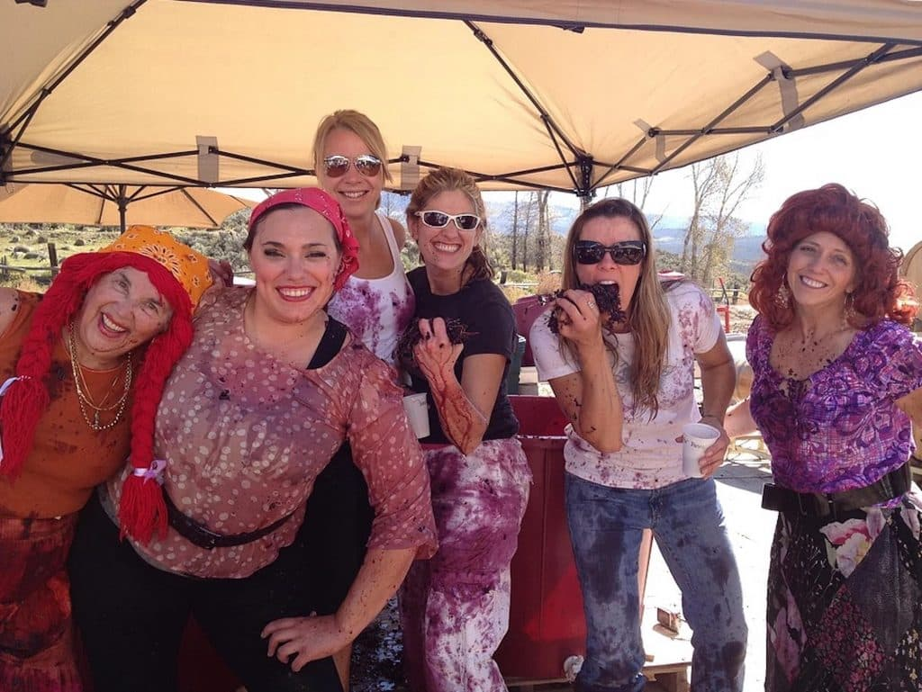 """Vines at Vail hosts its annual Harvest Crush and """"I Love Lucy"""" grape stomp costume contest this Saturday."""