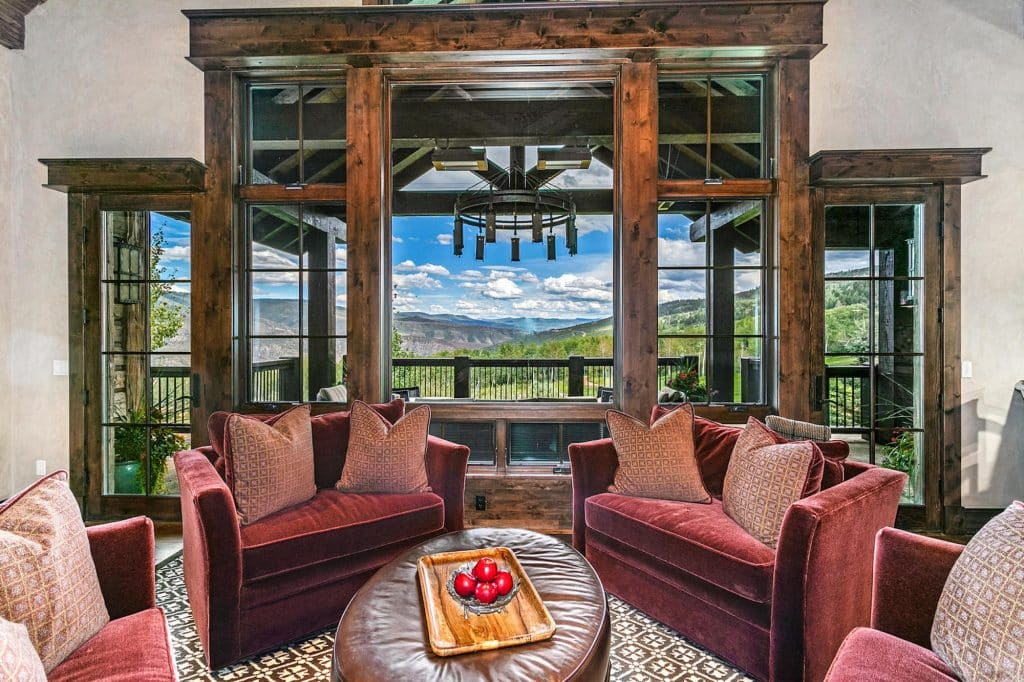 175 Elk Bugle in Wolcott, Colorado, is listed by LIV Sotheby's International Realty broker, Dawn Mullin, for $7,985,000.