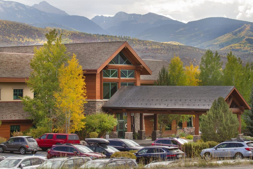 The award-wining Shaw Cancer Center in Edwards provides cutting edge technology and state-of-the-art equipment to fight cancers for area residents and many patients from outside Eagle County.