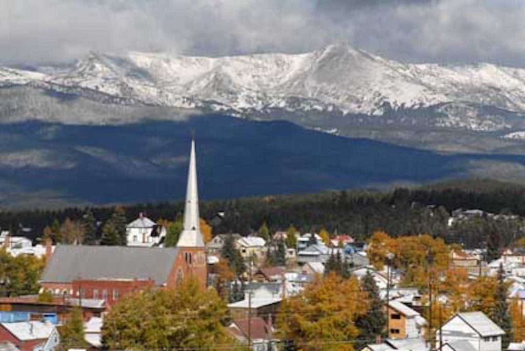 At 10,200 feet above sea level, Leadville is the nation's highest city.