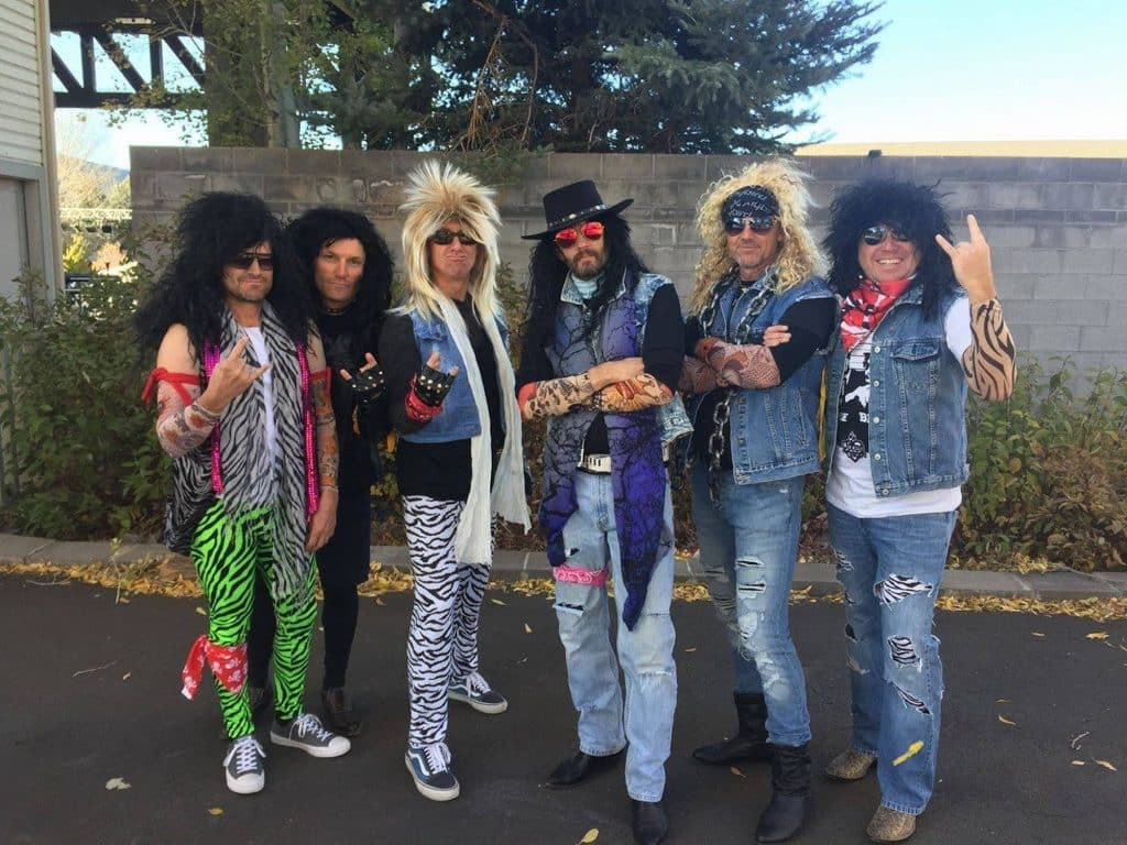 Local 80s cover band Rewind will host a Halloween costume party in Riverwalk this Saturday. Wear your costume and bring a lawn chair and enjoy the music on the streets of Riverwalk.