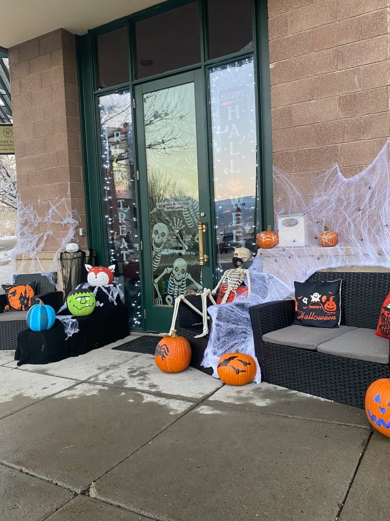 The businesses of Eagle Ranch are decking the streets with plenty of Halloween decor for the Trick or Treat Street event.