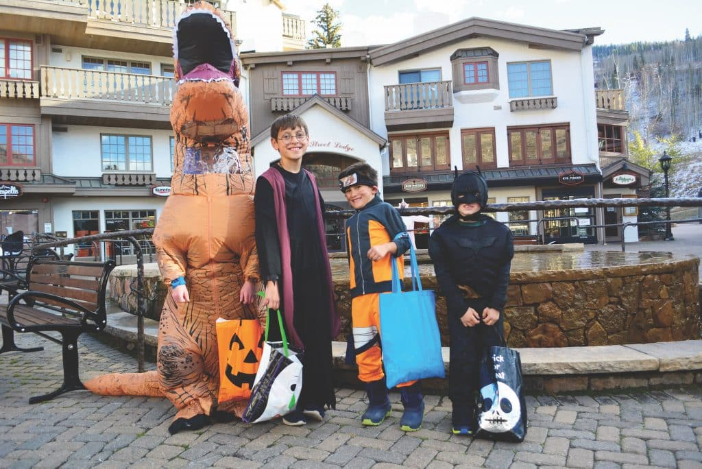 The 28th annual Trick or Treat Trot takes place in Lionshead and Vail Villages between 2 and 5 p.m. on Saturday.