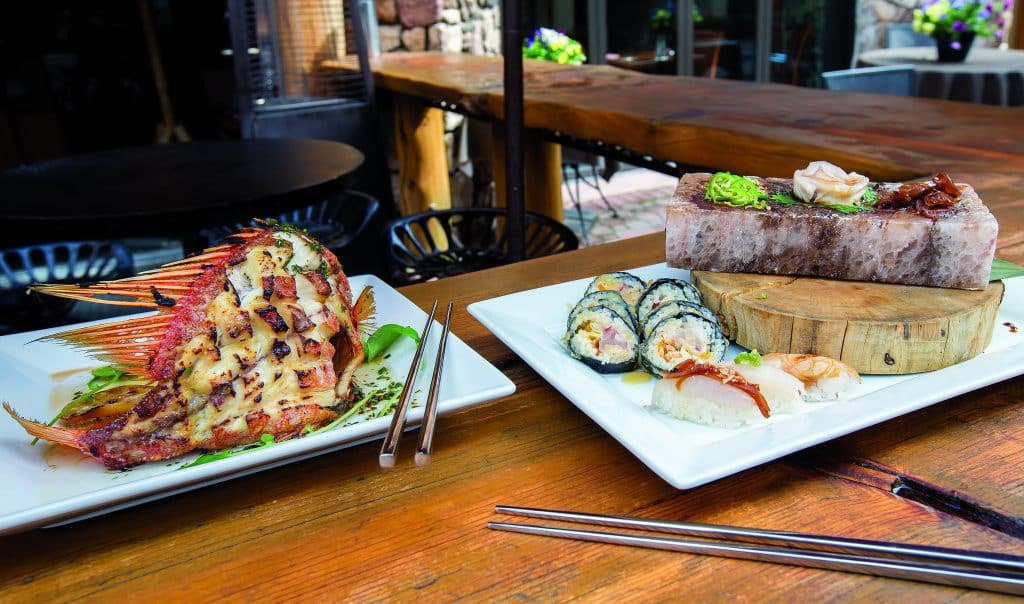 A few restaurants, like Hooked in Beaver Creek, are offering deals this time of year.