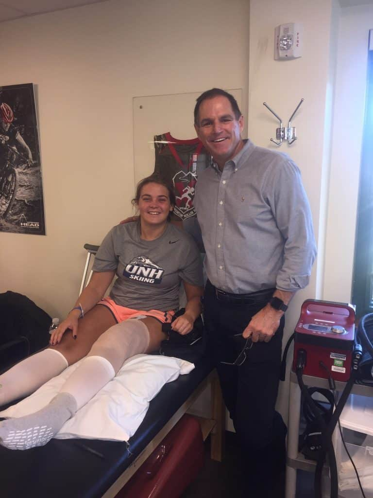 Dr. Sterett has been the Head Team Physician for the US Women's Alpine Ski Team since 1997. (Photo courtesy of Vail-Summit Orthopaedics & Neurosurgery)