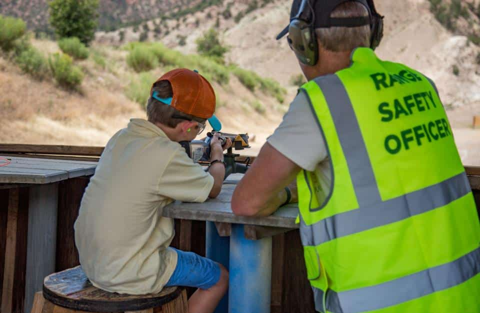 The Gypsum Shooting Sports Park offers newcomers and seasoned shooters a chance to explore their skills on rifle, pistol and archery ranges. (Photo courtesy of Town of Gypsum)